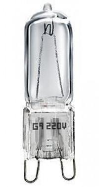 Лампа галогенная G9 50W колба прозрачная 4607138146967
