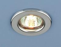 Встраиваемый светильник Elektrostandard 9210 MR16 CH хром 4690389055591