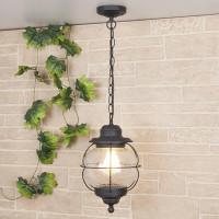 Уличный подвесной светильник Elektrostandard Regul H черная медь 4690389064999