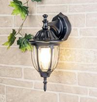 Уличный настенный светильник Elektrostandard 1002D черный 4690389076077