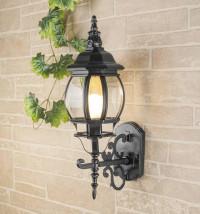 Уличный настенный светильник Elektrostandard 1011U черный 4690389076138