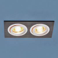 Встраиваемый светильник Elektrostandard 1051/2 BK черный 4690389083662