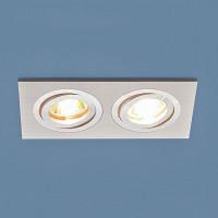 Встраиваемый светильник Elektrostandard 1051/2 WH белый 4690389083686