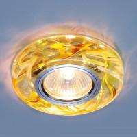Встраиваемый светильник Elektrostandard 2191 MR16 CL/YL/GR прозрачный/желтый/зеленый 4690389096129