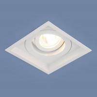 Встраиваемый светильник Elektrostandard 1071/1 MR16 WH белый 4690389097942