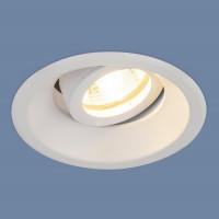 Встраиваемый светильник Elektrostandard 6068 MR16 WH белый 4690389097973