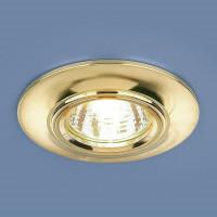 Встраиваемый светильник Elektrostandard 7007 MR16 GD золото 4690389098444