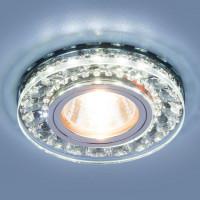 Встраиваемый светильник Elektrostandard 2192 MR16 SBK дымчатый 4690389098864