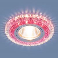 Встраиваемый светильник Elektrostandard 2193 MR16 CL/PK прозрачный/розовый 4690389098888