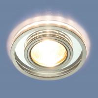 Встраиваемый светильник Elektrostandard 7021 MR16 SL/CH зеркальный/хром 4690389099366