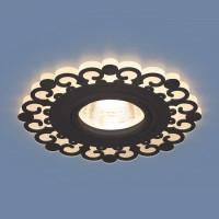 Встраиваемый светильник Elektrostandard 2196 MR16 BK черный 4690389101007