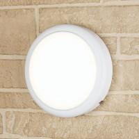 Уличный настенный светодиодный светильник Elektrostandard LTB06 Imatra белый 4690389104855