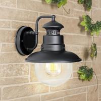 Уличный настенный cветильник Elektrostandard Talli D GL 3002D черный 4690389106576