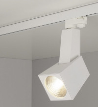 Трековый светодиодный светильник Elektrostandard Perfect белый 38W 3300K 4690389111426