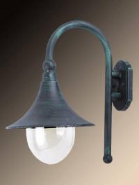 Уличный настенный светильник Arte Lamp Malaga A1082AL-1BG
