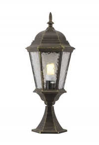 Уличный светильник Arte Lamp Genova A1204FN-1BN