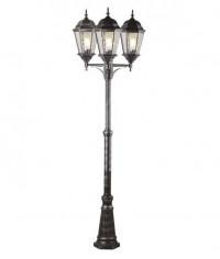 Садово-парковый светильник Arte Lamp Genova A1207PA-3BS