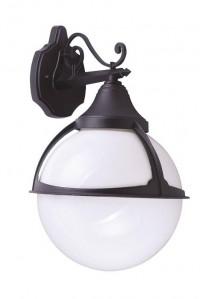 Уличный настенный светильник Arte Lamp Monaco A1492AL-1BK