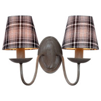 Бра Arte Lamp Scotch A3090AP-2GY
