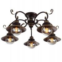 Потолочная люстра Arte Lamp 7 A4577PL-5CK