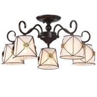 Потолочная люстра Arte Lamp 72 A5495PL-5BR