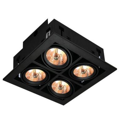 Встраиваемый светильник Arte Lamp Cardani A5930PL-4BK