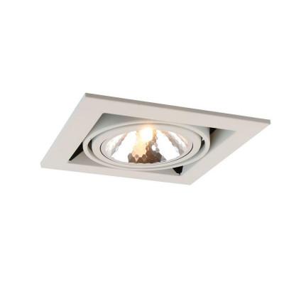Встраиваемый светильник Arte Lamp Cardani Semplice A5949PL-1WH