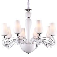 Подвесная люстра Arte Lamp Biancaneve A8110LM-8WH