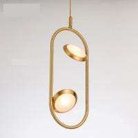 Подвесной светильник Inodesign Hoop Gold 110404