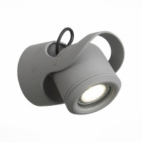 Уличный настенный светодиодный светильник ST Luce Round SL093.701.01