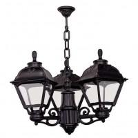 Уличный подвесной светильник Fumagalli Sichem/Cefa 3L U23.121.S30AXF1R